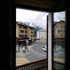 Отель Terminus Швейцария, Самедан - отзывы, цены и фото номеров - забронировать отель Terminus онлайн балкон