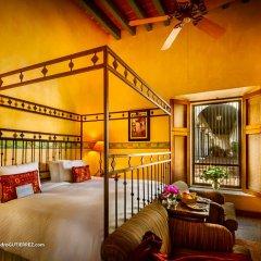 Отель Hacienda de Los Santos 4* Стандартный номер с различными типами кроватей фото 3