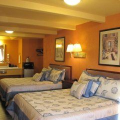 Отель Coast Inn and Spa Fort Bragg 2* Стандартный номер с 2 отдельными кроватями фото 6