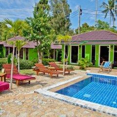Отель Angel Green Garden Bungalows Самуи бассейн