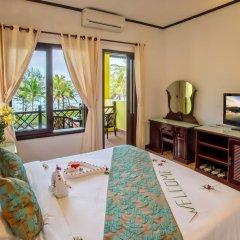 Отель Agribank Hoi An Beach Resort 3* Номер Делюкс с различными типами кроватей фото 16