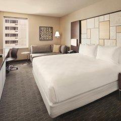 Отель Hilton San Francisco Union Square 4* Стандартный номер с двуспальной кроватью фото 9