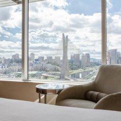 Отель Grand Hyatt Sao Paulo 5* Номер категории Премиум с различными типами кроватей фото 2