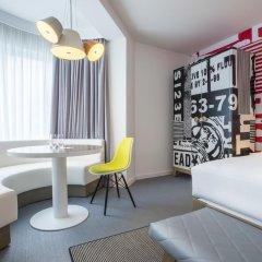 Отель Radisson RED Brussels 4* Студия с различными типами кроватей фото 6