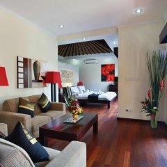 Отель Aleesha Villas 3* Улучшенная вилла с различными типами кроватей фото 20