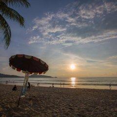 Golden House Hotel Patong Beach пляж