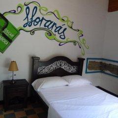 Viajero Cali Hostel & Salsa School Стандартный номер с двуспальной кроватью (общая ванная комната) фото 3