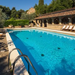 Отель Podere Poggio Mendico Ареццо бассейн фото 3
