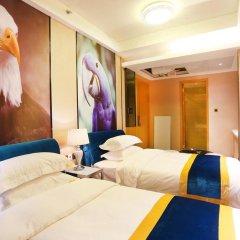 Апартаменты Guangzhou Chimelong Heefun International Service Apartment Номер Делюкс