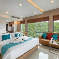 Отель Patong Bay Hill Resort 4* Люкс с двуспальной кроватью фото 5