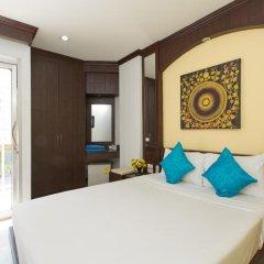 Отель Patong Buri 3* Стандартный номер с двуспальной кроватью