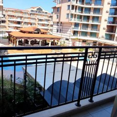 Апартаменты Sunny Beach Rent Apartments Karolina Солнечный берег балкон
