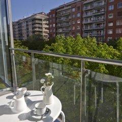Отель Black & White 3 Apartment by Feelfree Rentals Испания, Сан-Себастьян - отзывы, цены и фото номеров - забронировать отель Black & White 3 Apartment by Feelfree Rentals онлайн балкон