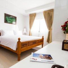 Отель VITS Patong Dynasty 3* Улучшенный номер двуспальная кровать фото 2