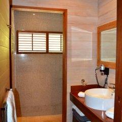 Отель Villa Honu by Tahiti Homes Французская Полинезия, Муреа - отзывы, цены и фото номеров - забронировать отель Villa Honu by Tahiti Homes онлайн ванная фото 2