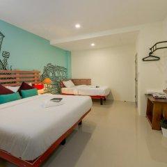 Отель The Pho Thong Phuket 3* Номер Делюкс разные типы кроватей фото 4