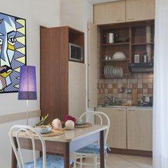 Отель Residence Blu Mediterraneo 2* Апартаменты с различными типами кроватей фото 3