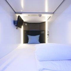 Spa & Capsule Hotel GrandPark-Inn Yokohama 2* Капсула в мужском общем номере фото 4