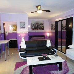Отель Aparthotel Résidence Bara Midi 3* Улучшенные апартаменты с различными типами кроватей
