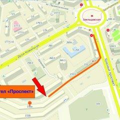 хостел Проспект городской автобус