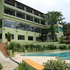 Отель Palm Paradise Resort бассейн