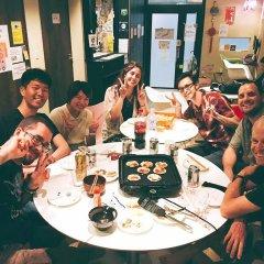 Fukuoka Hana Hostel Хаката питание