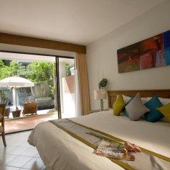 Отель Sunset Beach Resort 4* Номер Делюкс с двуспальной кроватью фото 7