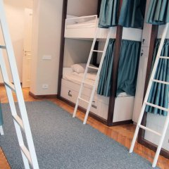 Отель Karavan Inn Кровать в общем номере с двухъярусной кроватью фото 21
