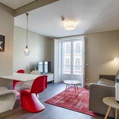Отель Chiado Mercy - Lisbon Best Apartments Португалия, Лиссабон - отзывы, цены и фото номеров - забронировать отель Chiado Mercy - Lisbon Best Apartments онлайн комната для гостей фото 2