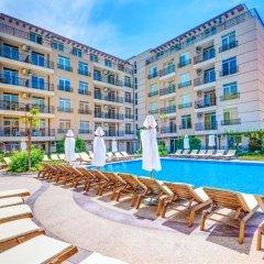 Отель Aparthotel Dawn Park Болгария, Солнечный берег - отзывы, цены и фото номеров - забронировать отель Aparthotel Dawn Park онлайн балкон