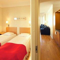 Отель Hellsten Helsinki Parliament 3* Улучшенная студия с разными типами кроватей фото 9