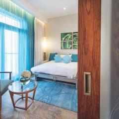 Апартаменты Sofitel The Palm, Дубай, Апартаменты Апартаменты с различными типами кроватей фото 7