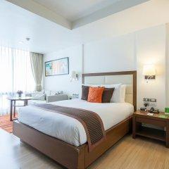 Отель Oakwood Residence Sukhumvit 24 Улучшенная студия фото 3