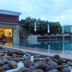 Отель Golden Bay Cottage 3* Бунгало Делюкс с различными типами кроватей фото 13