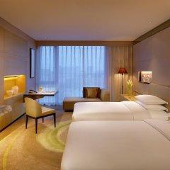 Отель Hyatt Regency Tianjin East 4* Стандартный номер с различными типами кроватей фото 3