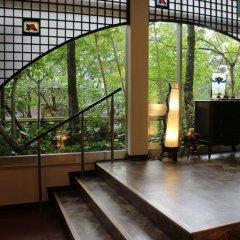 Отель Kinosato Yamanoyu Япония, Минамиогуни - отзывы, цены и фото номеров - забронировать отель Kinosato Yamanoyu онлайн фитнесс-зал фото 2