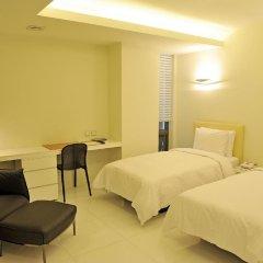 Grammos Hotel 3* Улучшенный номер с 2 отдельными кроватями фото 5
