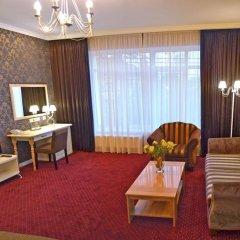 Гостиница Ajur 3* Люкс двуспальная кровать фото 14