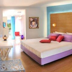 Отель Antigoni Beach Resort 4* Полулюкс с различными типами кроватей фото 6