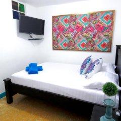 Отель Hostal Pajara Pinta Номер Делюкс с различными типами кроватей фото 13