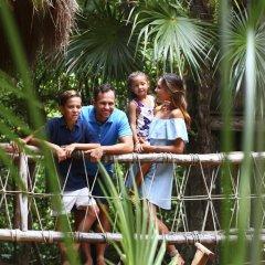 Отель Sandos Playacar Select Club - Только для взрослых, Все включено Плая-дель-Кармен приотельная территория фото 2