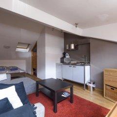 Отель Aparthotel Van Hecke Полулюкс с различными типами кроватей