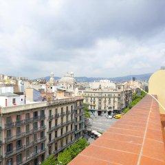 Апартаменты Rent Top Apartments Rambla Catalunya Барселона балкон