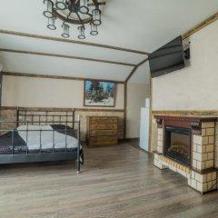 Гостиница Теремок Заволжский Апартаменты разные типы кроватей фото 21