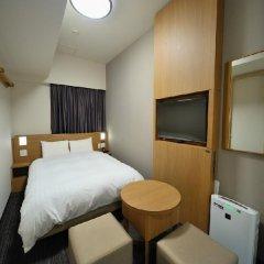 Отель Dormy Inn Tokyo-Hatchobori Natural Hot Spring 3* Стандартный номер с двуспальной кроватью фото 2