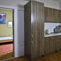 Гостиница Елисеефф Арбат 3* Стандартный семейный номер с двуспальной кроватью фото 27