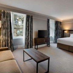 Отель Hilton Edinburgh Carlton 4* Представительский номер с разными типами кроватей фото 2