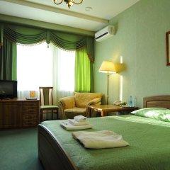 Отель Лермонтов Омск комната для гостей фото 7