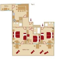 Отель Gasteheim Prantl Хохгургль интерьер отеля фото 2