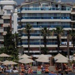 Moda Beach Hotel Турция, Мармарис - отзывы, цены и фото номеров - забронировать отель Moda Beach Hotel онлайн спортивное сооружение